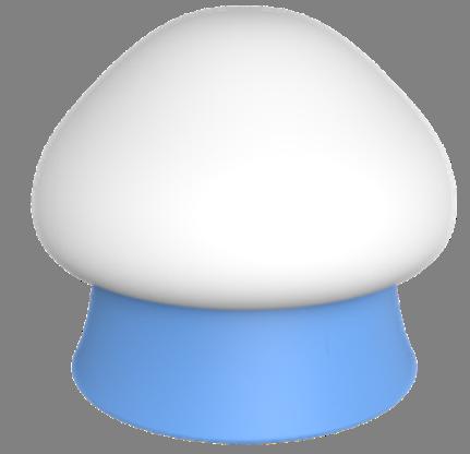 宝宝灯系列-蘑小菇