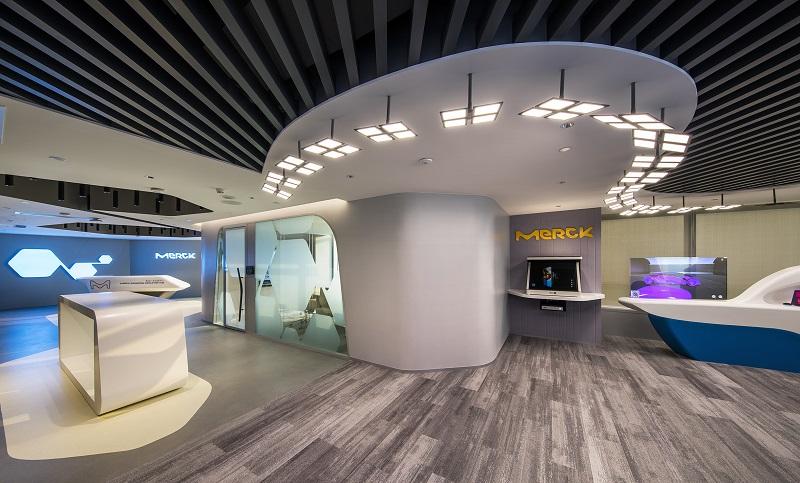 壹光科技OLED照明黑科技 助力默克广东创新中心正式投入使用