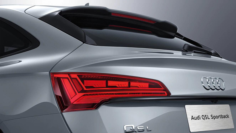 搭载全新奥迪一体式OLED数字尾灯的 Q5L Sportback 正式全球上市